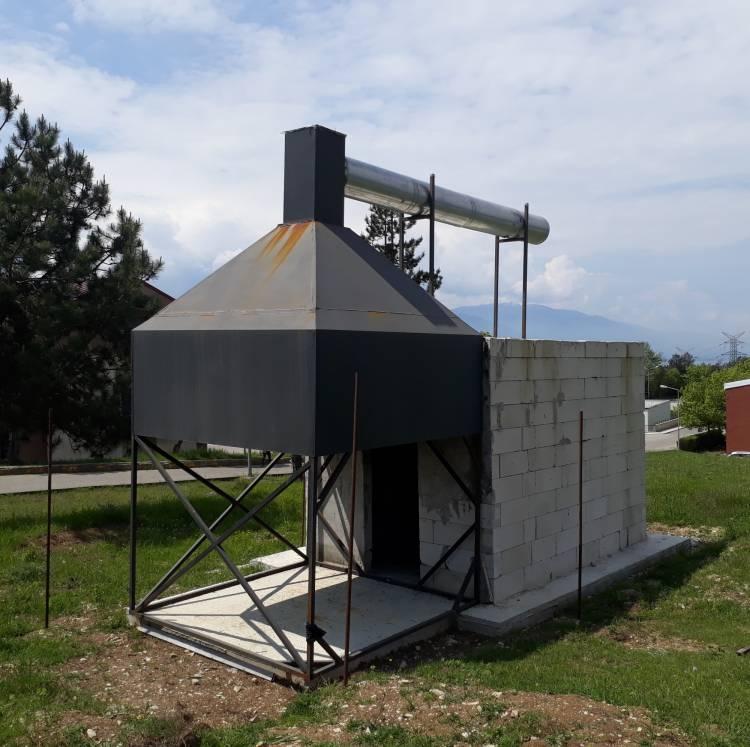 Standart Yangın Odası Test Düzeneği